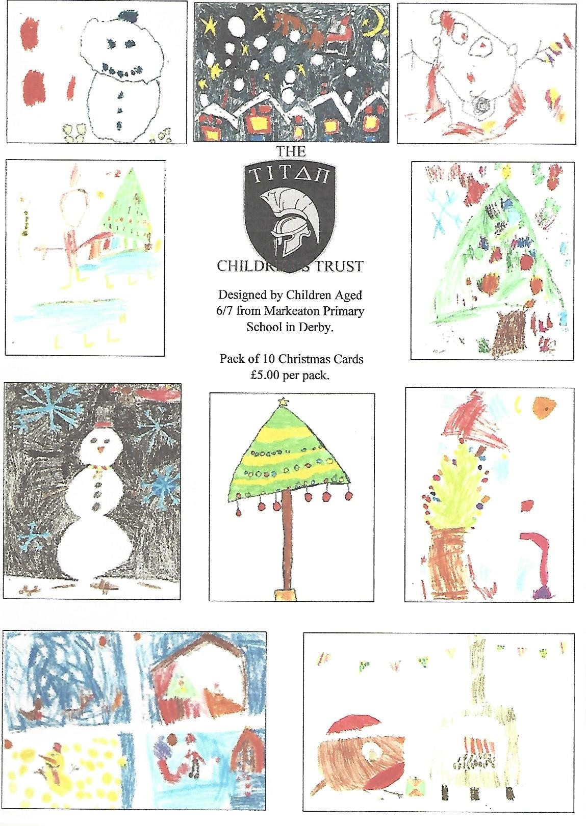 Christmas Cards by the children of Markeaton Primary School – The ...